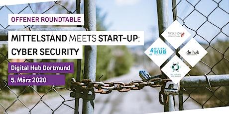 Mittelstand meets Start-up: Cyber Security Tickets
