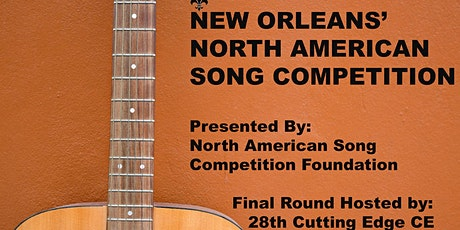 NEW ORLEANS' NORTH AMERICAN SONG COMPETITION tickets