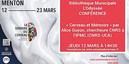 Conférence : « Cerveau et Mémoire »