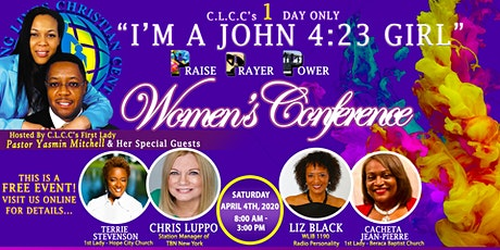 4/4/2020 C.L.C.C's Women's Conference tickets