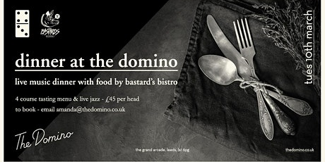 Dinner at The Domino tickets