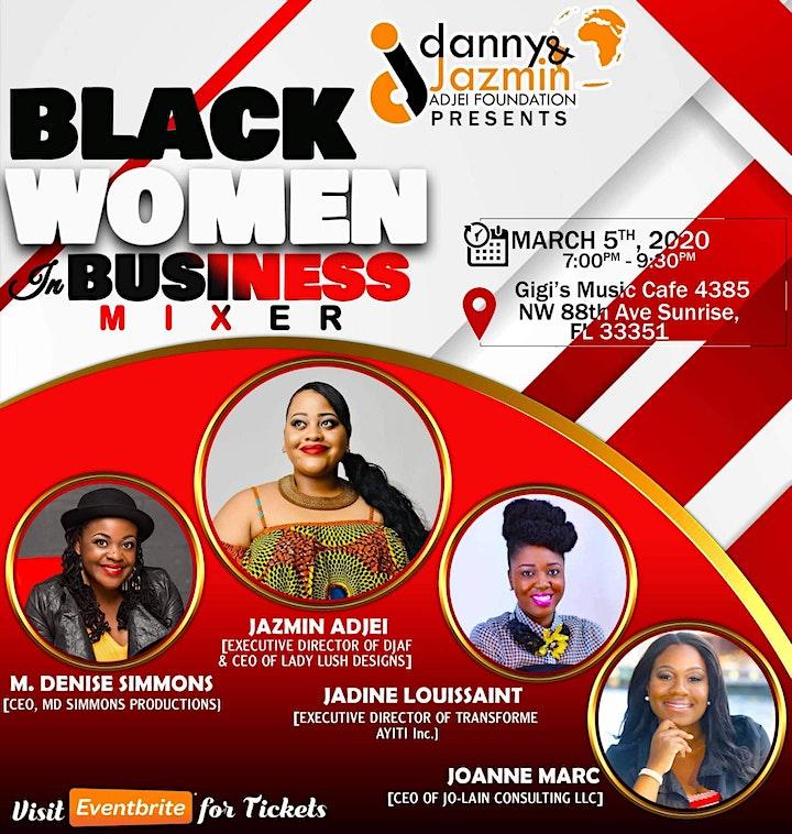 Black Women in Business Mixer image