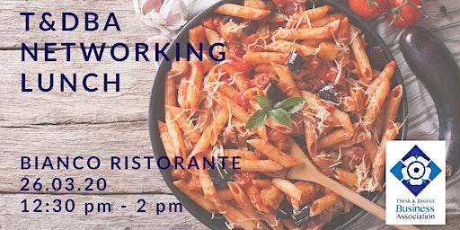 T&DBA lunch at Bianco Ristorante