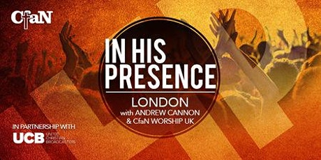 In His Presence with Andrew Cannon tickets