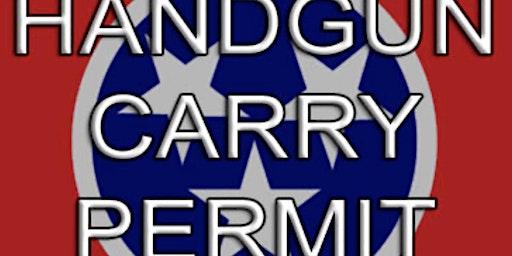 Enhanced Pistol Permit Certification