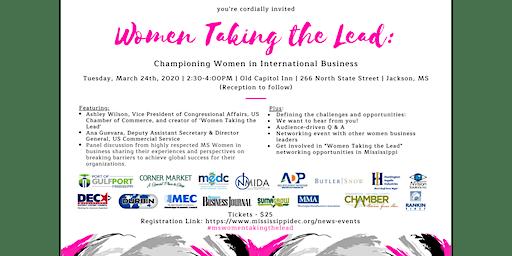 Women Taking the Lead