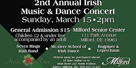 Irish Music and Dance Concert tickets