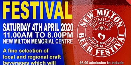 New Milton Beer Festival 2020 tickets