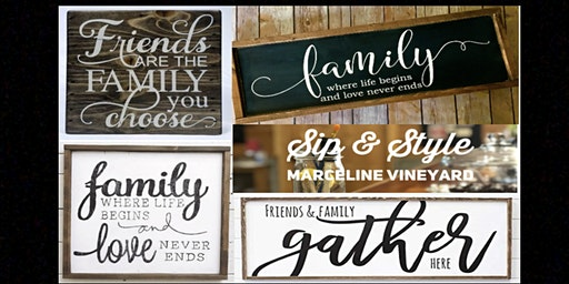 Sip & Style    Marceline Vineyards