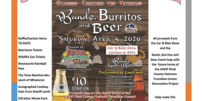 Bands, Burritos and Beer
