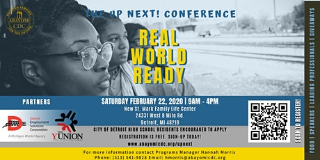 The Up Next! Real World Ready Conference tickets