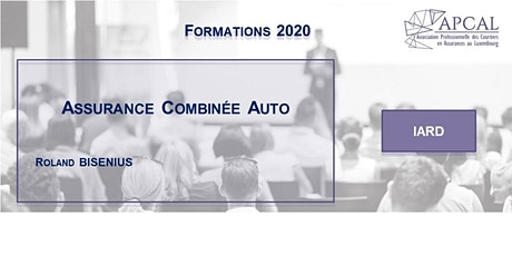 Assurance Combinée Auto - FORMATION DIGITALE tickets