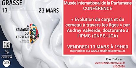 Conférence : « Évolution du corps et du cerveau à travers les âges » billets