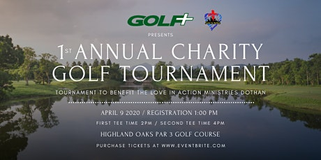 1st  Annual Charity Golf Tournament tickets