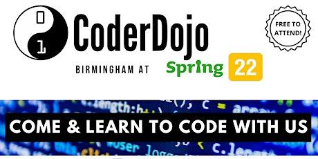 Coder Dojo tickets