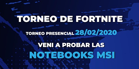 TORNEO FORTNITE entradas