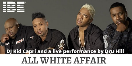 ALL WHITE AFFAIR featuring Kid Capri with a live performance by Dru Hill  tickets