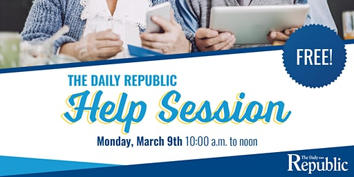 The Daily Republic Help Session