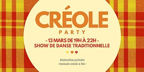 Créole Party billets