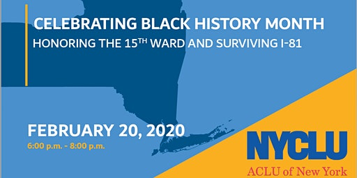 Celebrate Black History Month Honoring the 15th Ward Dinner and Discussion