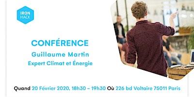 Conférence sur les enjeux énergie et climat, ave