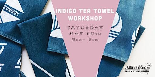 Indigo Tea Towel Workshop