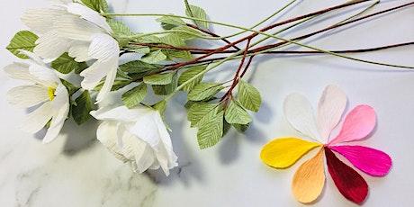 Botanical Paper Art Workshop at Trevince tickets