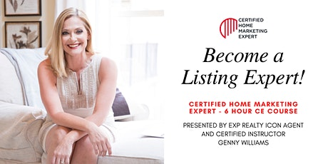 Become a Certified Listing Expert ! tickets