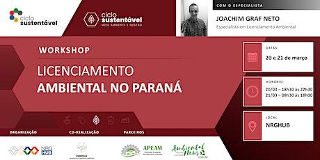 Workshop - Licenciamento Ambiental no Paraná ingressos