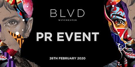 BLVD - SPINNINGFIELDS - PR EVENT tickets