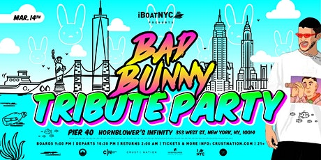 BAD BUNNY TRIBUTE Yacht Cruise: Saturday Night on Hornblower's INFINITY tickets