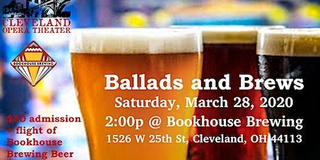 Ballads and Brews tickets