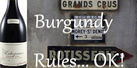 Frazier's Wine Tasting - Burgundy Rules tickets