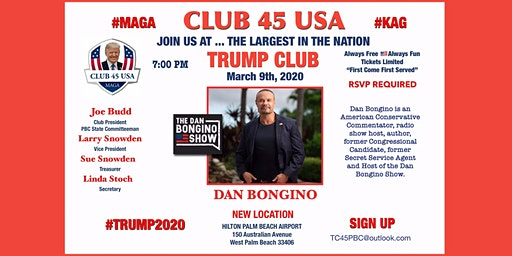 Club 45 USA March 9 Meeting