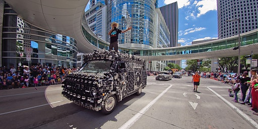 2020 VIPit Experience at The Houston Art Car Parade