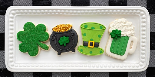 St. Patrick's Day Cookie Decorating Party and Mini Make-and-Take Project @ AR Workshop  - Franklin