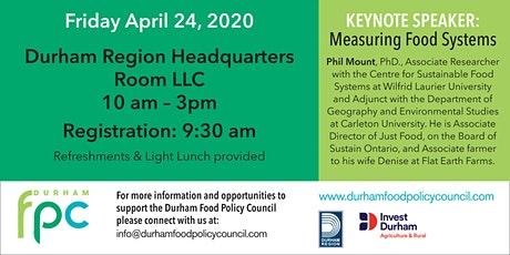 How Do You Measure a Food System? A Durham Food Policy Council Symposium tickets