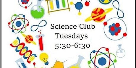 PWML: Science Club tickets