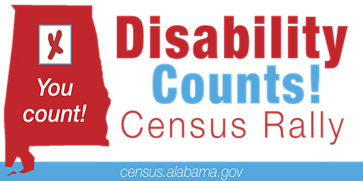 Disability Counts Census Rally, Mobile