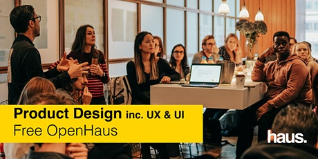 Product Design (inc. UX & UI) OpenHaus tickets