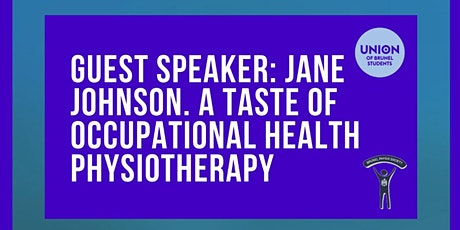External speaker event: Occupational health Physiotherapy  tickets