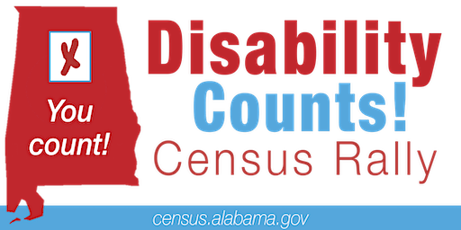 Disability Counts Census Rally, Huntsville