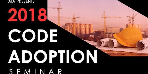 2018 Code Adoption Seminar