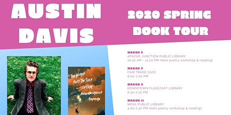 Austin Davis Book Tour Launch and Open Mic tickets