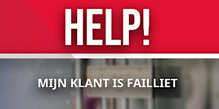 Masterclass: Help mijn klant is failliet
