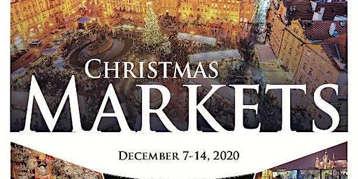 Travel Show: Visit European Christmas Markets in 2020 via DMEHA