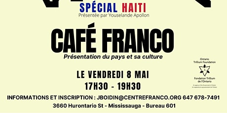 Café franco - Haïti tickets