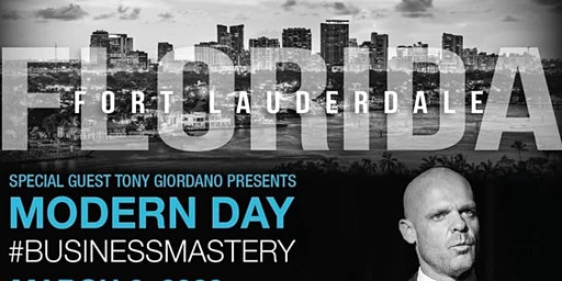 Modern Day Business Mastery with Tony Giordano