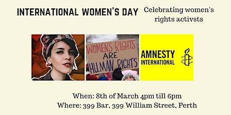 International Women's Day 2020  - Celebrating Women's Rights Activists tickets
