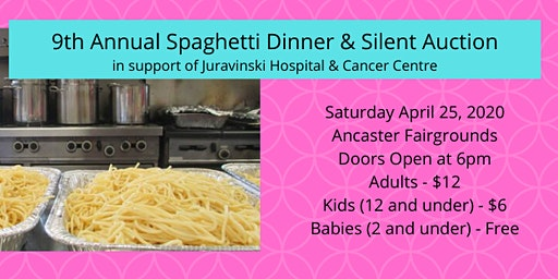 The Jersey Girls' 9th Annual Spaghetti Dinner & Silent Auction